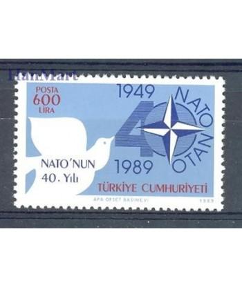 Turcja 1989 Mi 2851 Czyste **