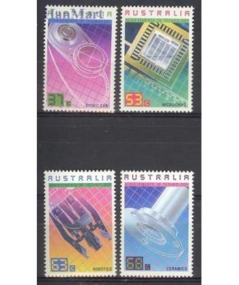 Australia 1987 Mi 1051-1054 Czyste **