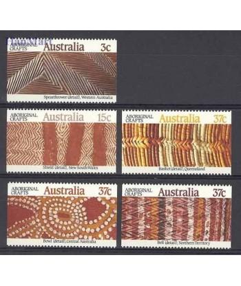 Australia 1987 Mi 1062-1066 Czyste **
