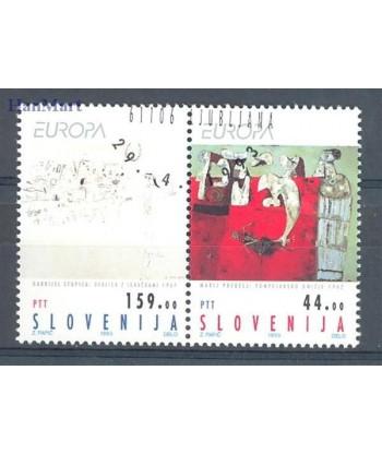 Słowenia 1993 Mi par Czyste **