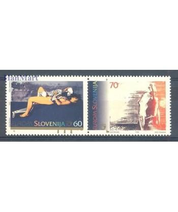 Słowenia 1995 Mi 110-111 Czyste **