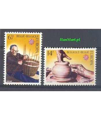 Belgia 1976 Mi 1857-1858 Czyste **