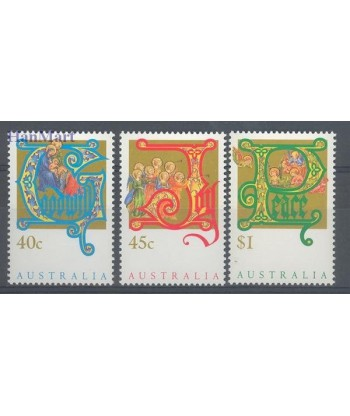 Australia 1993 Mi 1378-1380 Czyste **