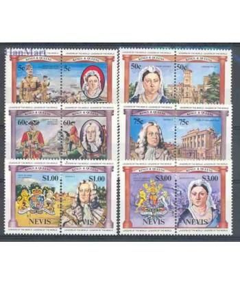 Nevis 1984 Mi 131-142 Czyste **