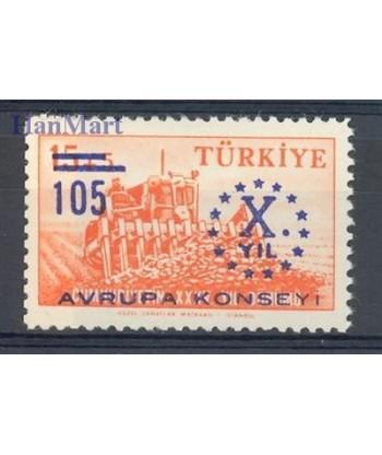 Turcja 1959 Mi 1625 Czyste **