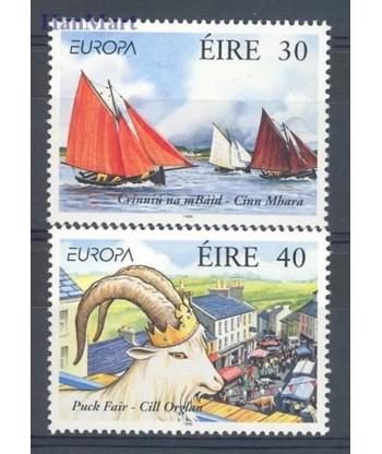 Irlandia 1998 Mi 1068-1069 Czyste **