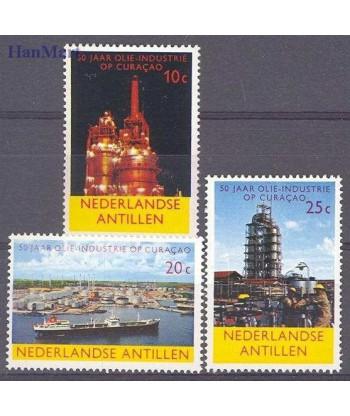 Antyle Holenderskie 1965 Mi 149-151 Czyste **