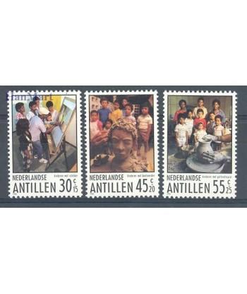 Antyle Holenderskie 1986 Mi 586-588 Czyste **