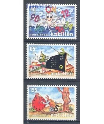 Antyle Holenderskie 1991 Mi 728-730 Czyste **