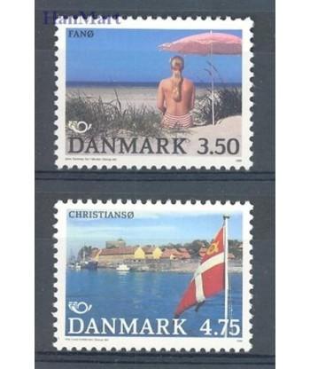 Dania 1991 Mi 1003-1004 Czyste **