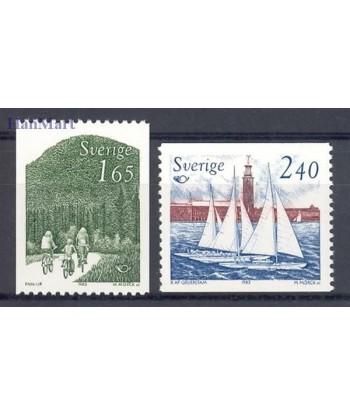 Szwecja 1983 Mi 1230-1231 Czyste **
