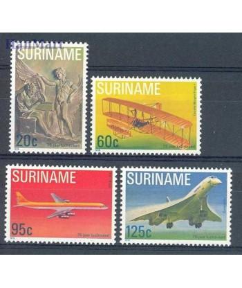 Surinam 1978 Mi 849-852 Czyste **
