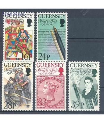 Guernsey 1993 Mi 617-621 Czyste **