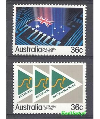 Australia 1987 Mi 1013-1014 Czyste **