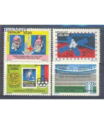 Urugwaj 1976 Mi 1436-1439 Czyste **