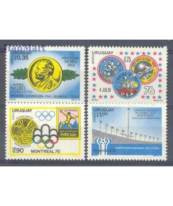 Urugwaj 1976 Mi 1440-1443 Czyste **