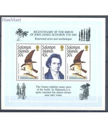 Wyspy Salomona 1985 Mi bl 18 Czyste **