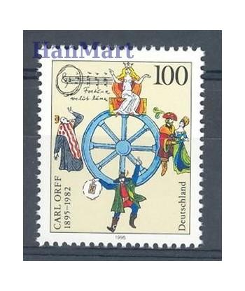 Niemcy 1995 Mi 1806 Czyste **