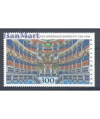 Niemcy 1998 Mi 1983 Czyste **