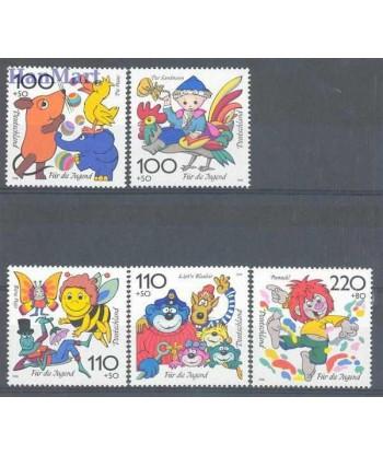Niemcy 1998 Mi 1990-1994 Czyste **