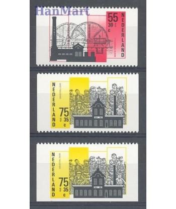 Holandia 1987 Mi 1315c+1317c+d Czyste **