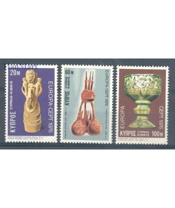 Cypr Grecki 1976 Mi 435-437 Czyste **