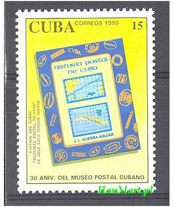 Kuba 1995 Mi 3800 Czyste **