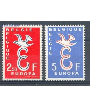 Belgia 1958 Mi 1117-1118 Czyste **