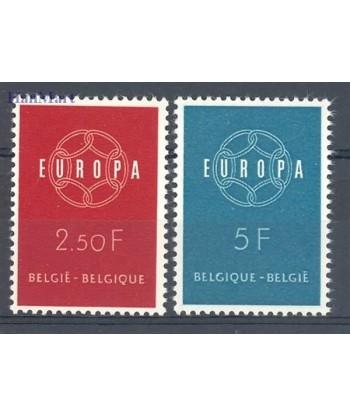 Belgia 1959 Mi 1164-1165 Czyste **