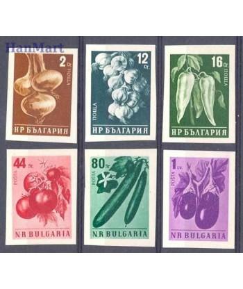 Bułgaria 1958 Mi 1079-1084B Czyste **