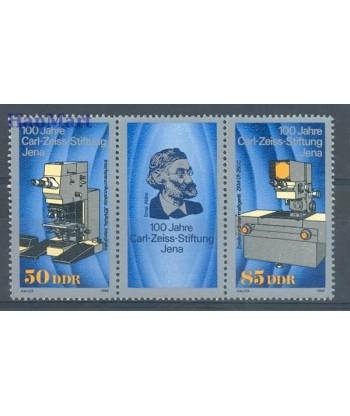 Niemiecka Republika Demokratyczna / DDR 1989 Mi 3252-3253 Czyste **