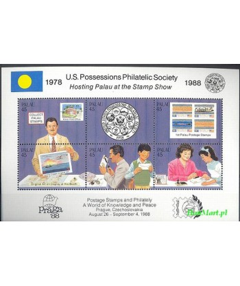 Palau 1988 Mi bl 4 Czyste **