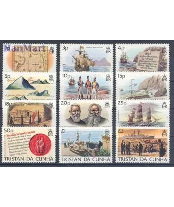 Tristan da Cunha 1983 Mi 345-356 Czyste **