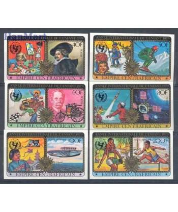 Republika Środkowoafrykańska 1979 Mi 606-611B Czyste **