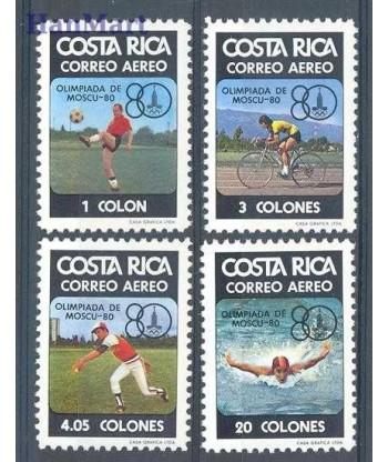 Kostaryka 1980 Mi 1065-1068 Czyste **