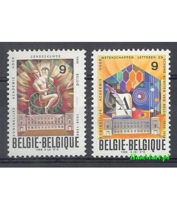Belgia 1988 Mi 2348-2349 Czyste **