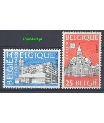 Belgia 1990 Mi 2419-2420 Czyste **