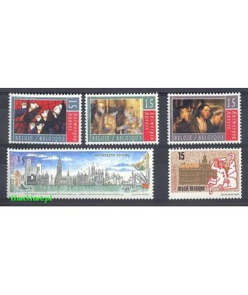 Belgia 1993 Mi 2547-2551 Czyste **