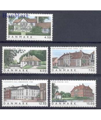 Dania 2004 Mi 1361-1365 Czyste **
