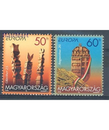 Węgry 1998 Mi 4514-4515 Czyste **
