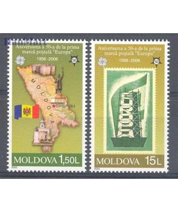 Mołdawia 2005 Mi 517-518 Czyste **