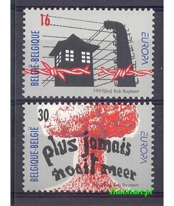 Belgia 1995 Mi 2649-2650 Czyste **