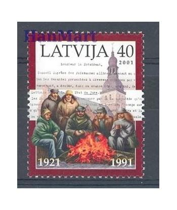 Łotwa 2001 Mi 538 Czyste **
