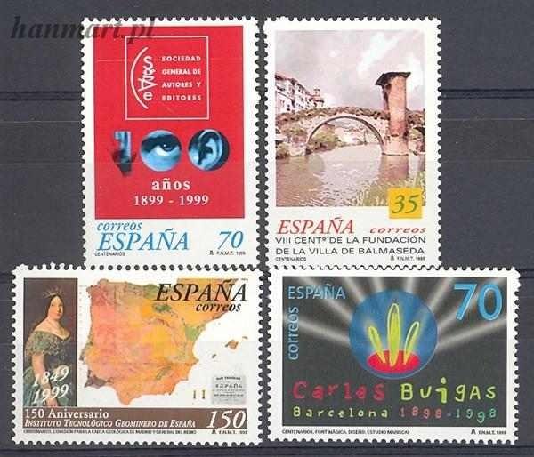 Spain 1999 Mi 3484-3487 MNH
