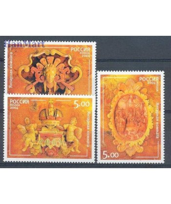 Rosja 2004 Mi 1177-1179 Czyste **