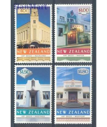 Nowa Zelandia 1999 Mi 1747-1750 Czyste **