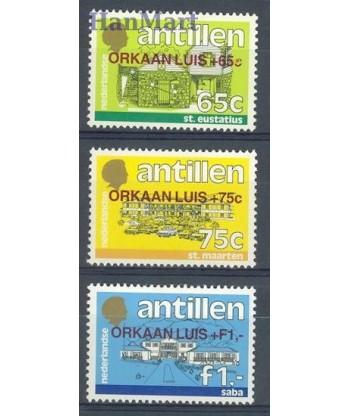 Antyle Holenderskie 1995 Mi 843-845 Czyste **