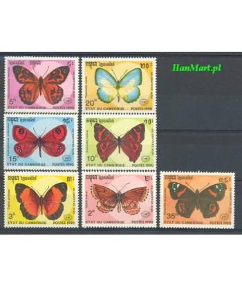 Kambodża 1990 Mi 1142-1148 Czyste **