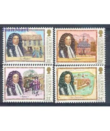 Guernsey 1987 Mi 393-396 Czyste **