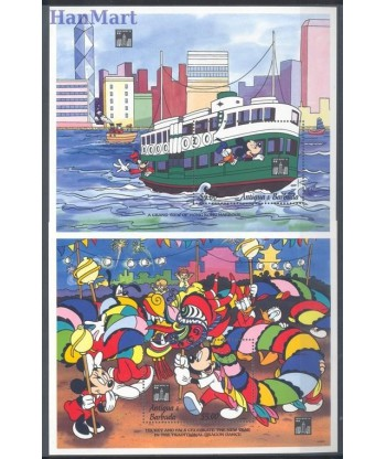 Antigua i Barbuda 1994 Mi 283-283 Czyste **